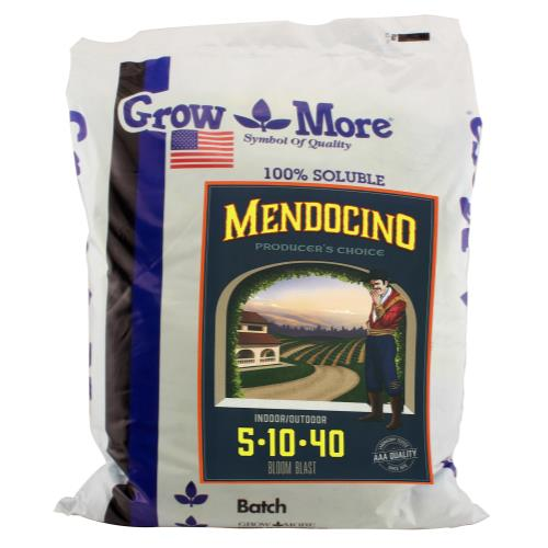 Grow More Mendocino Water Soluble 5-10-40 25 lb