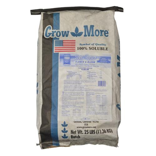 Grow More Seagrow Flower & Bloom 25 lb 4 - 26 - 26