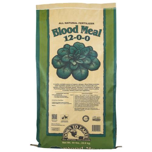 Down To Earth Blood Meal 12-0-0 - 50 lb