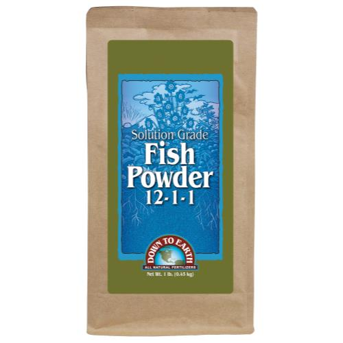 Down To Earth Fish Powder 12-1-1 - 1 lb
