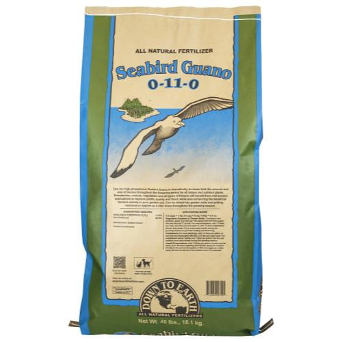 Down To Earth Seabird Guano 1-10-0 - 40 lb
