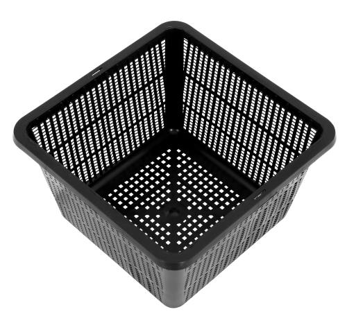Gro Pro Square Mesh Pot 9 in x 5-1/4 in
