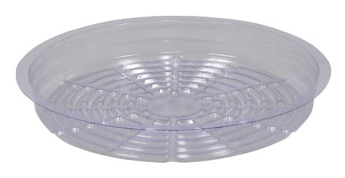 Gro Pro Clear Plastic Saucer 10 in (Case of 50)