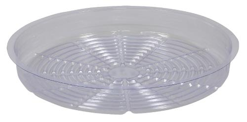 Gro Pro Clear Plastic Saucer 14 in (Case of 50)
