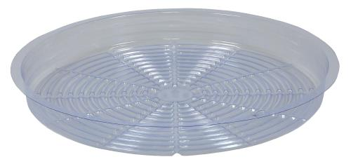Gro Pro Clear Plastic Saucer 16 in (Case of 50)
