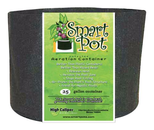 Smart Pot Black 25 Gallon