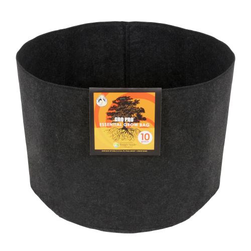 Gro Pro Essential Round Fabric Pot 10 Gallon