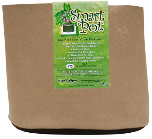 Smart Pot Tan 25 Gallon
