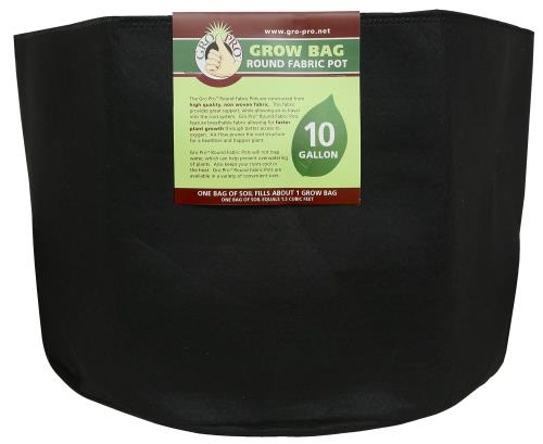 Gro Pro Round Grow Bag 10 Gallon