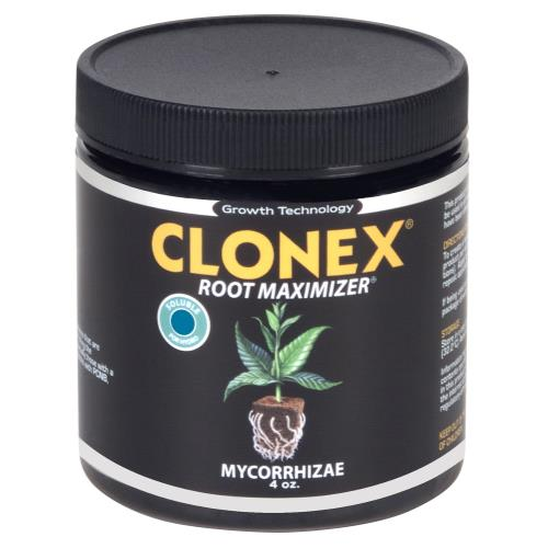 HydroDynamics Clonex Mycorrhizae Root Maximizer 4 oz Soluble