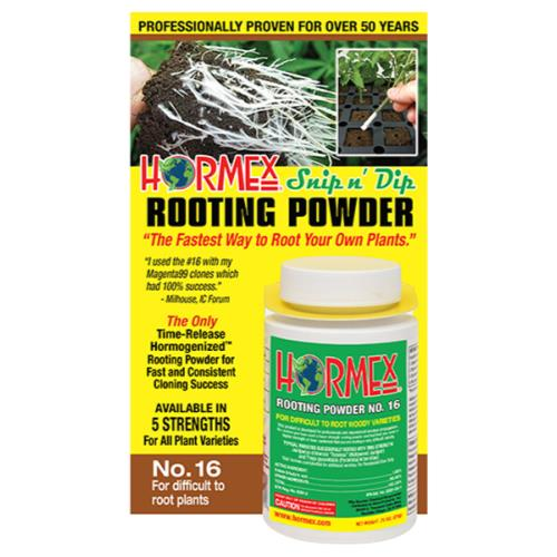 Hormex Snip n' Dip Rooting Powder #16 - 3/4 oz