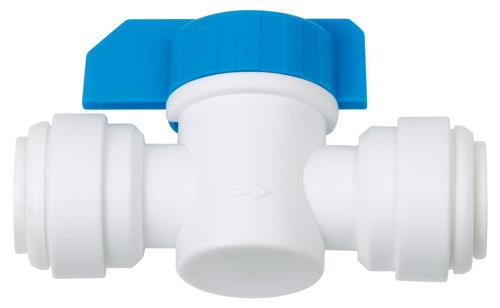 Hydro-logic QC Inline Shut Off Valve 3/8 in