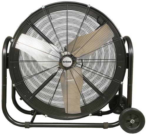 Hurricane Pro Heavy Duty Adjustable Tilt Drum Fan 36 in