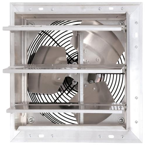 Hurricane Pro Shutter Exhaust Fan 16 in