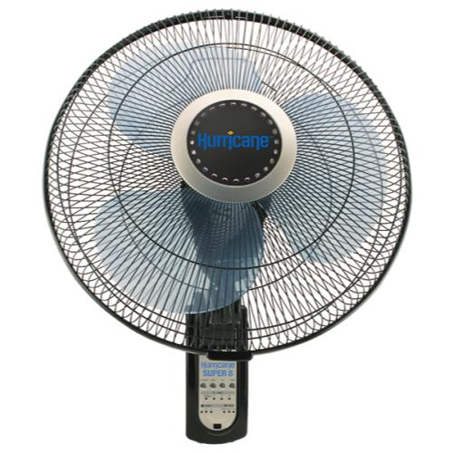 Hurricane Super 8 Digital Wall Mount Fan 16 in