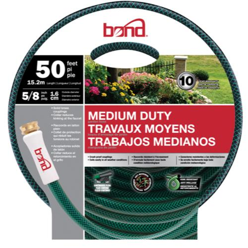 Bond Medium Duty Hose 5/8 in 50 ft