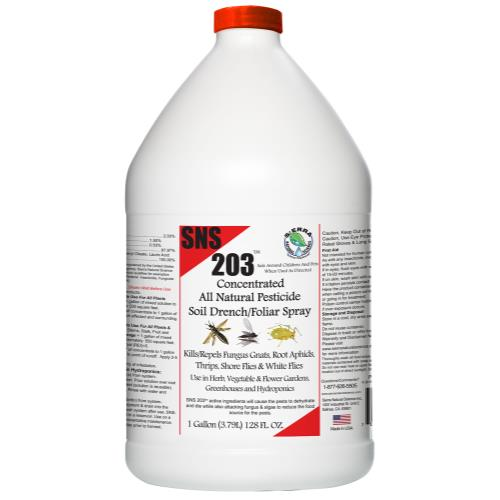 SNS 203 Conc. Pesticide Soil Spray/Drench Gallon