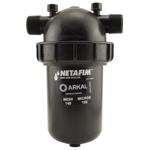 Netafim Disc Filter 1 in MPT x MPT 140 Mesh 26 GPM Maximum Flow