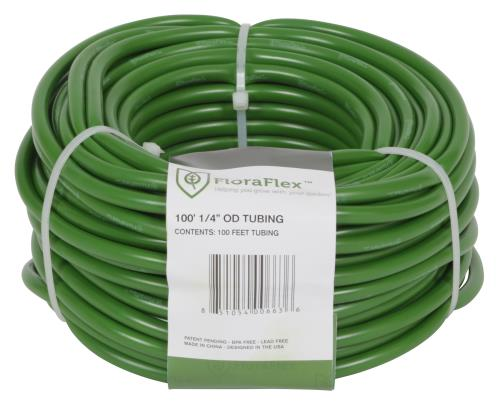 FloraFlex 3/16 in ID - 1/4 in OD Tubing 100 ft Roll