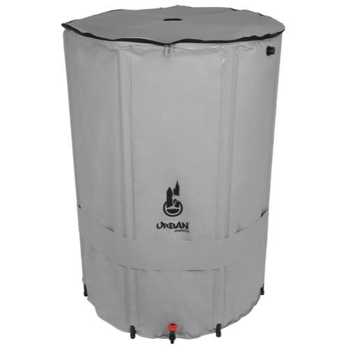 Urban Oasis Collapsible Water Storage Barrel 206 Gallon