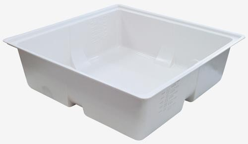 Duralastics 100 Gallon Reservoir  White 5/Case