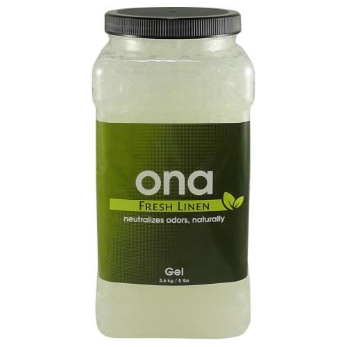 Ona Gel Fresh Linen Gallon Jar