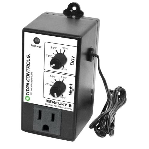 Titan Controls Mercury 3 - Day/Night Fan Controller