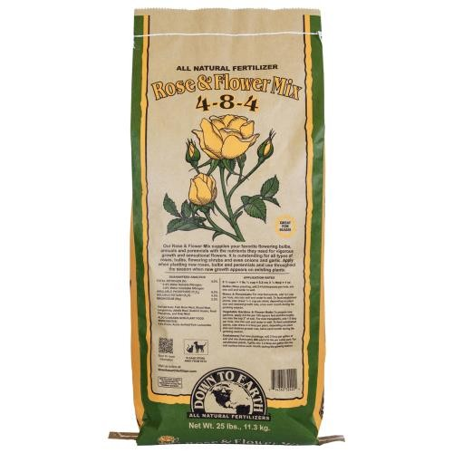 Down To Earth Rose & Flower Mix 4-8-4 - 25 lb