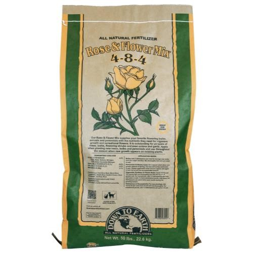Down To Earth Rose & Flower Mix- 50 lb
