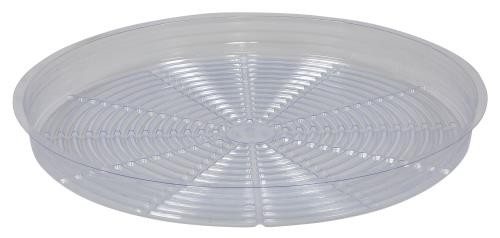 Gro Pro Clear Plastic Saucer 18 in (Case of 50)