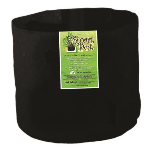 Smart Pot Black 100 Gallon