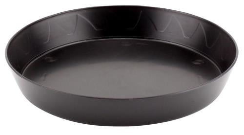 Gro Pro Heavy Duty Black Saucer - 8 in (10/pack)