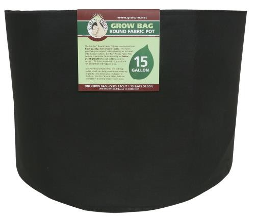 Gro Pro Round Grow Bag 15 Gallon