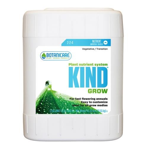 Botanicare Kind Grow 5 Gallon 2 - 2 - 4