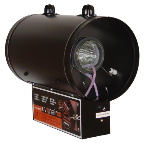 Uvonair CD Inline Duct Ozonator 8 in - 1 Cell